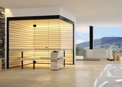 Living Room Saunas - These Home Saunas Were Designed for People Living in Small Spaces