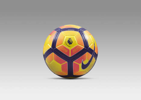 High-Visibility Soccer Balls - The Nike Ordem 4 Hi-Vis Ball is Being Used In Europe's Top Leagues