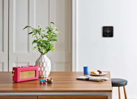 Voice-Controlled Thermostats - The Honeywell Lyric T5 Digital Thermostat Connects to Home WiFi