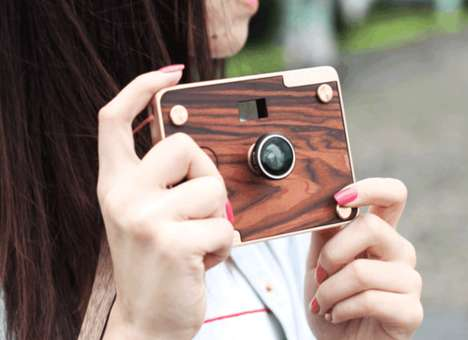 DIY Wooden Cameras - These Cameras Fuse Modern and Vintage Design Elements