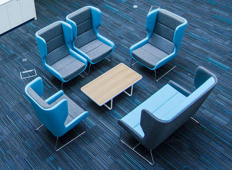 Versatile Wingback Chairs - These Herman Miller Chairs Were Made with Naughtone's Help