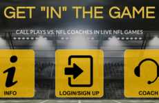 Interactive Coaching Experiences - The 'Be The Coach' App Lets Football Fans Call Plays