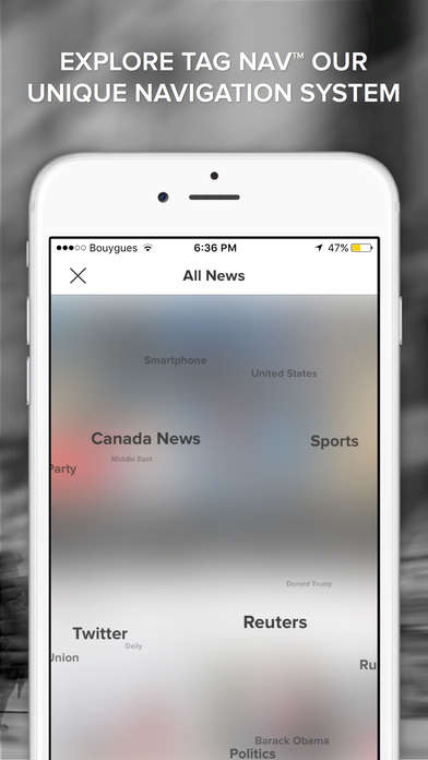 Curated News Apps - The News Republic App Draws Content From Over a Thousand Sources