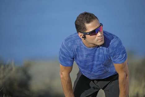 AI Fitness-Tracking Sunglasses - The Oakley 'Radar Pace' Sport Sunglasses are Feature-Rich