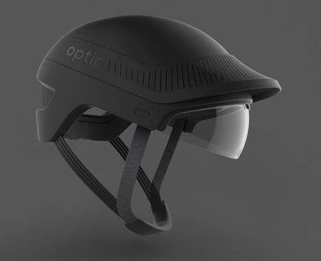 Augmented Reality Bike Helmets