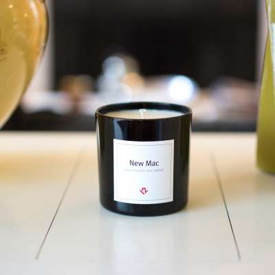Laptop-Scented Candles - The 'New Mac Candle' Smells Like a Freshly Unboxed Mac Laptop