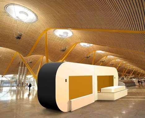 Airport Layover Sleep Pods