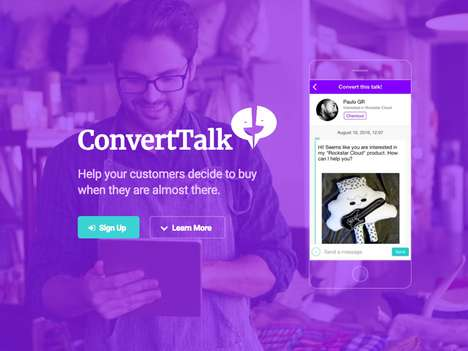 eCommerce Communication Tools - 'ConvertTalk' Helps Convert Sales Leads into Customers