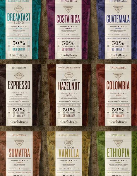 Charitable Coffee Beans - Some of the Proceeds from This Coffee Go to Selected Charities