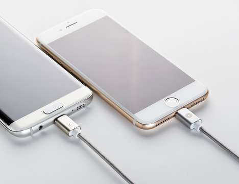 Magnetic Smartphone Charging Connectors - The 'MagBolt' Magnetic Connector Ensures Optimal Usage