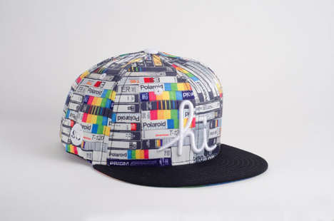 Artistic Snapback Hats - This Society6 Hat Collection Was Created by Five Artists