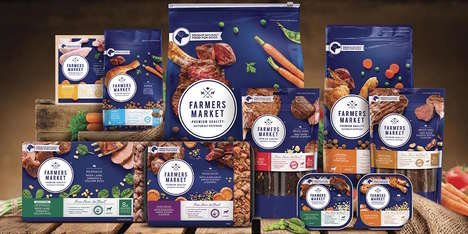 Premium Canine Meals - The 'FARMERS MARKET' Food for Dogs is Made with Natural Ingredients
