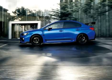 Rejuvenated Rally Cars - The Subaru WRX S4 tS is Targeted Towards Japanese Auto Buyers