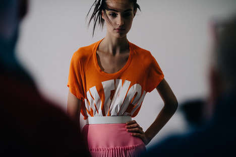 Elaborate Neon Womenswear - The Haider Ackermann Women's Line Combines Bold Cuts and Colors