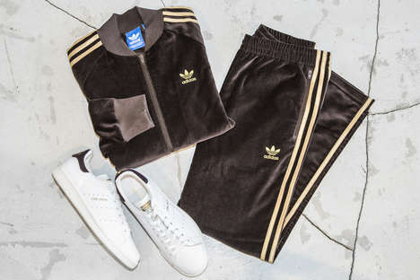 Collaborative Velour Tracksuits - Japan's UNITED ARROWS Joined with adidas to Make Retro Sportswear