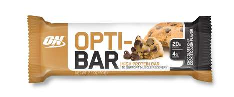 Optimized Protein Bars - The OPTI-BAR Offers Maximum Protein and Minimum Sugar