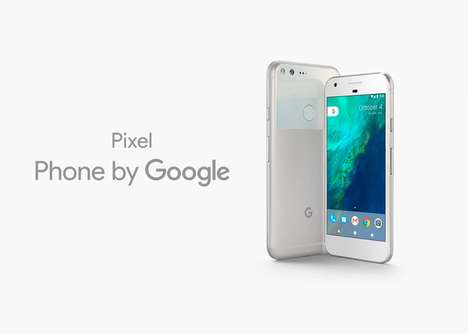 Search Engine Smartphones - The Google Pixel Smartphone Features Innovative Hardware and Software