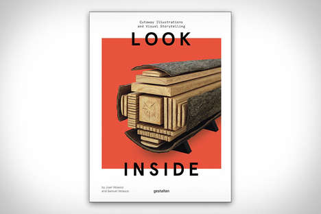 Cross-Section Viewpoint Books - 'Look Inside' Creates Visual Storytelling with Cutaway Illustrations