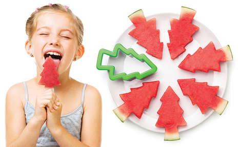 Healthy Popsicle Fruit Slicers - The Pepo Forest Watermelon Slicer is a Fun Way to Cut the Fruit