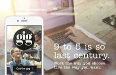 The Gig App Helps Millennials Secure Part-Time Shift Work Easily