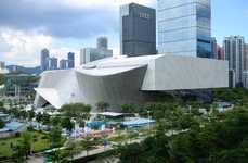 Mesmerizing Museum Designs - This Shenzhen Museum Embraces Deconstructivist Design Principles