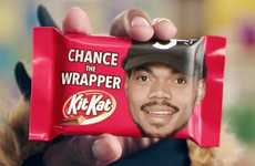 Rapper-Sung Chocolate Jingles - This Kit Kat Commercial Features a Halloween-Ready Chance the Rapper