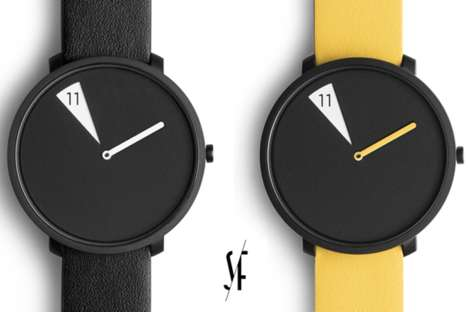 Face-Shifting Watches - This Sabrina Fossi Watch Shows Only Individual Hours