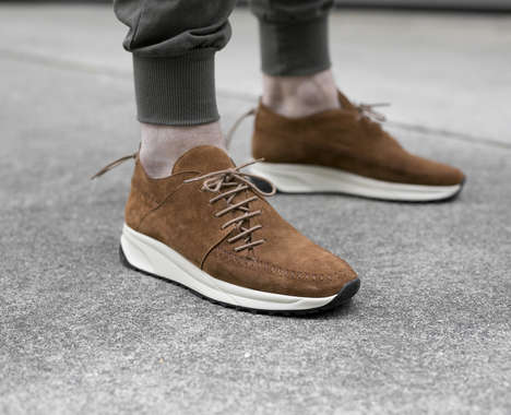 Moccasin-Inspired Sneakers