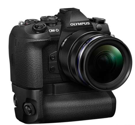 Focus-Tracking Flagship Cameras - The Olympus OM-D E-M1 Mark II Offers High Speed Image-Processing