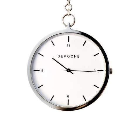 Minimalist Pocket Watches - Swedish Watch Brand Depoche Reintroduced an Iconic Timepiece