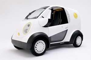 Kabuku and Honda Created a Printed Delivery Vehicle for Toshimaya