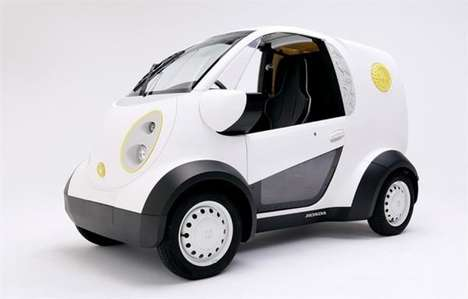 3D-Printed Delivery Cars - Kabuku and Honda Created a Printed Delivery Vehicle for Toshimaya