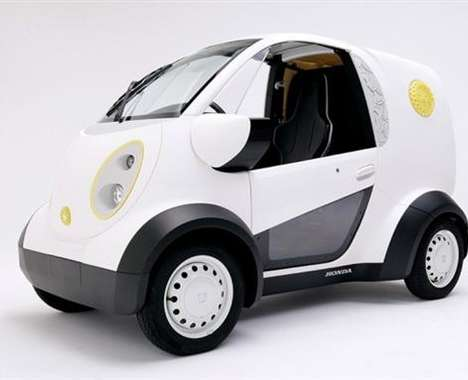 3D-Printed Delivery Cars