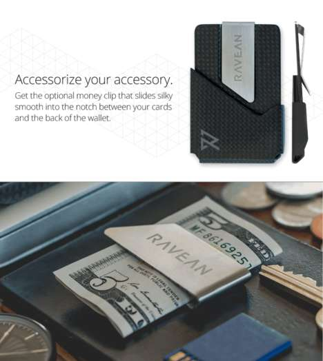 Fraud-Preventing Wallets - This RFID-Blocking Wallet Offers Style and Security