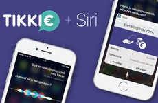 Voice-Controlled Payments - ABN Amro's 'Tikkie' App Permits Payments Through Apple's Siri