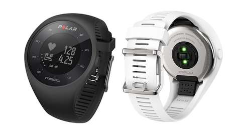 Precision Heart-Tracking Watches - The Polar M200 GPS Running Watches are for Training Athletes