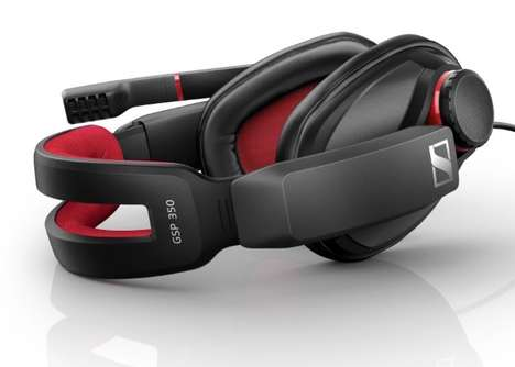 Reactionary Gaming Headsets - The Sennheiser GSP 350 Game Headset Performs Well During Intense Games