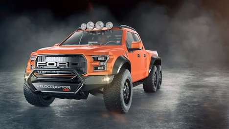 Monstrous Pickup Trucks - This Six-Wheel Drive Truck Was Devised By Hennessey Performance