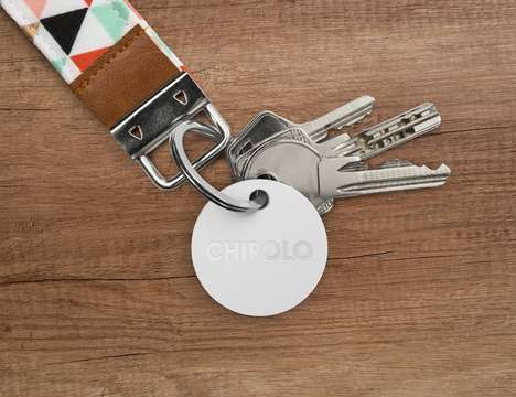 Versatile Lost Item Locators - The 'Chipolo Plus' Bluetooth Tracker Provides an Ultra-Loud Alert