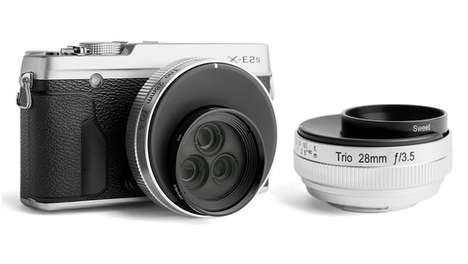 Mesmerizing Effect Lenses - The Lensbaby Trio 28 Offers Distinctive and Memorable Visual Effects