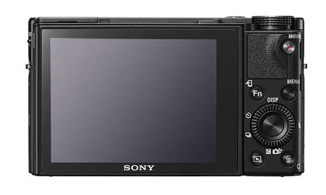 Comprehensive Compact Cameras - The Sony RX100 V Offers Industry-Leading Autofocus & Anti-Distortion