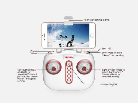 App-Controlled Quadcopters - Syma's New Quadcopter Comes With An HD Camera and Built-In WiFi