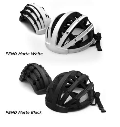 Folding Bike Helmets - The Fend Helmet Can Easily Be Carried Around When Not In Use
