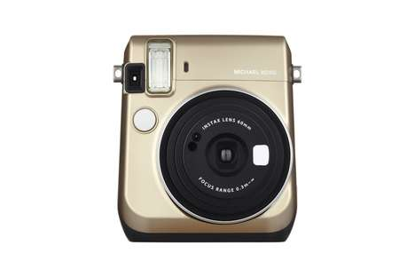 Fashionable Instant Cameras - Michael Kors and Fujifilm Collaborated on the Chicest Camera to Date