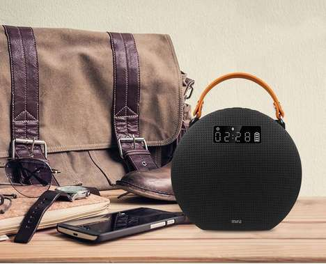 Music-Enhancing Portable Speakers - The Mifa M9 Stereo Speaker Dynamically Adjusts Audio