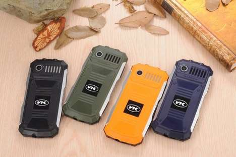 Quadruple-Protection Phones - This Durable Phone Wards Off Water, Dust, Temperature and Drops