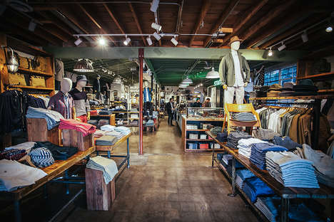 Masculine Lifestyle Stores - Stag Provisions Provides Classic and Modern Fashions for Men