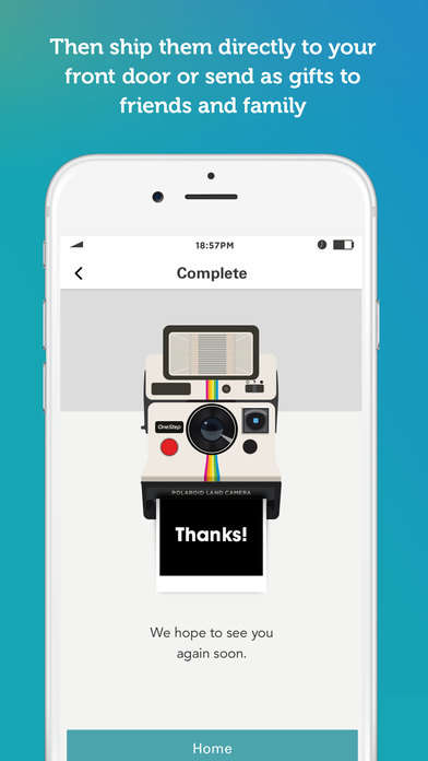 Tangible Photo-Print Apps - The Polaroid Print Shop App Lets You Print Photos Taken On Your Phone