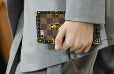 Luggage Purse Smartphone Cases - The Louis Vuitton Petite Malle Luxury Case is for the iPhone