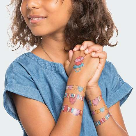 Sweetly Scented Temporary Tattoos - Tattly Arm Candy Tattoos are Deliciously Designed and Scented
